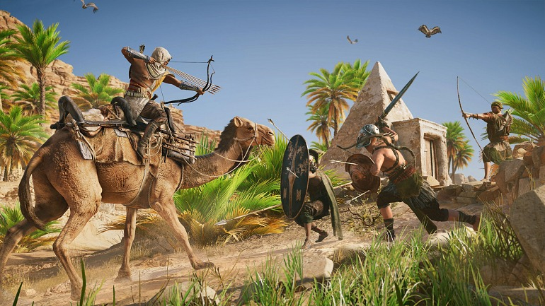 Assassin's Creed: Origins promete más variedad de acción en sus misiones