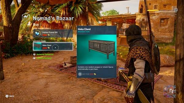 Assassin's Creed: Origins también cae en la moda de las cajas de botín