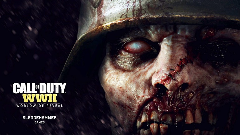Call of Duty: WWII: Filtrado el tráiler de anuncio de los zombies