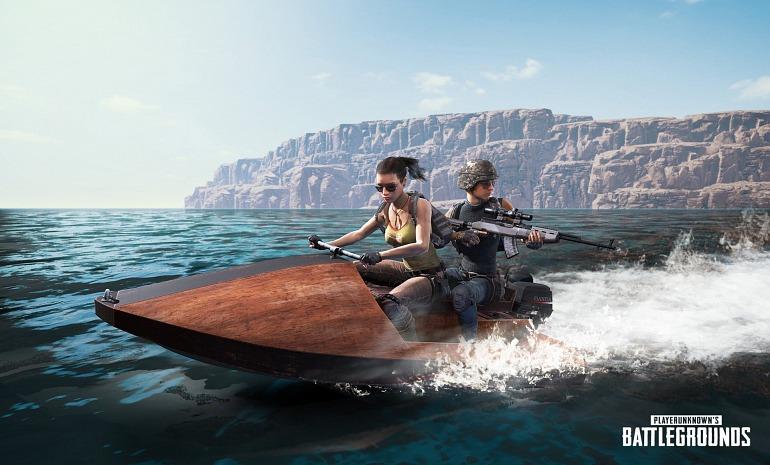 PlayerUnknown's Battlegrounds sumará una moto de agua