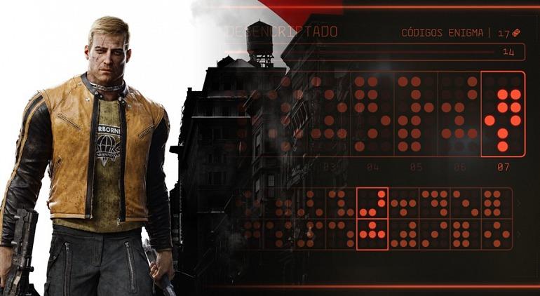 Wolfenstein II: The New Colossus - Descifrando Enigma