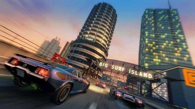 Imagen de Burnout Paradise, una de las últimas entregas de la saga