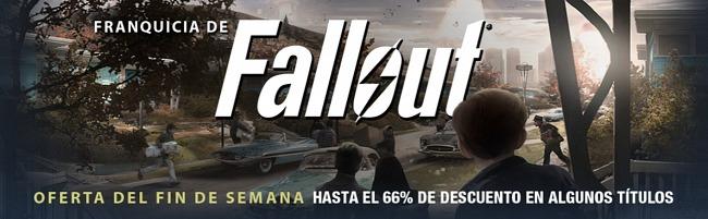 La saga Fallout, de oferta en Steam