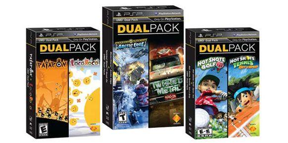Packs duales de juegos - PSP Estados Unidos
