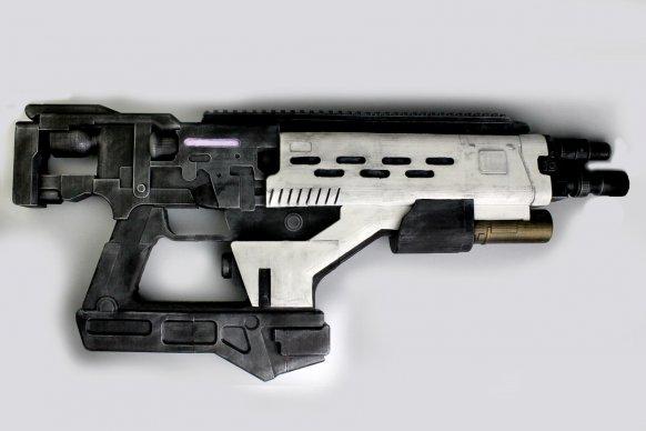 Ya disponible el plano 3D para imprimir un rifle de fusión de Destiny