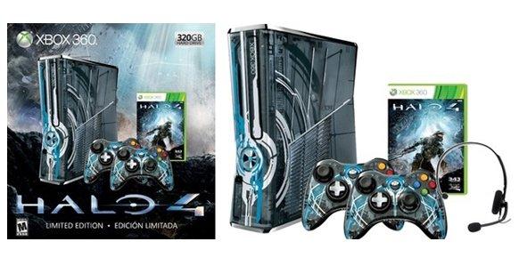 Xbox 360 Edición Limitada, inspirada en Halo 4