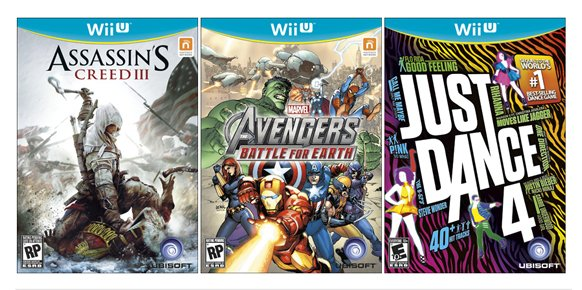 Nintendo también corrobora que las carátulas de Wii U son reales