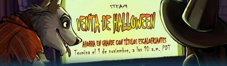 Steam da comienzo a sus ofertas de Halloween